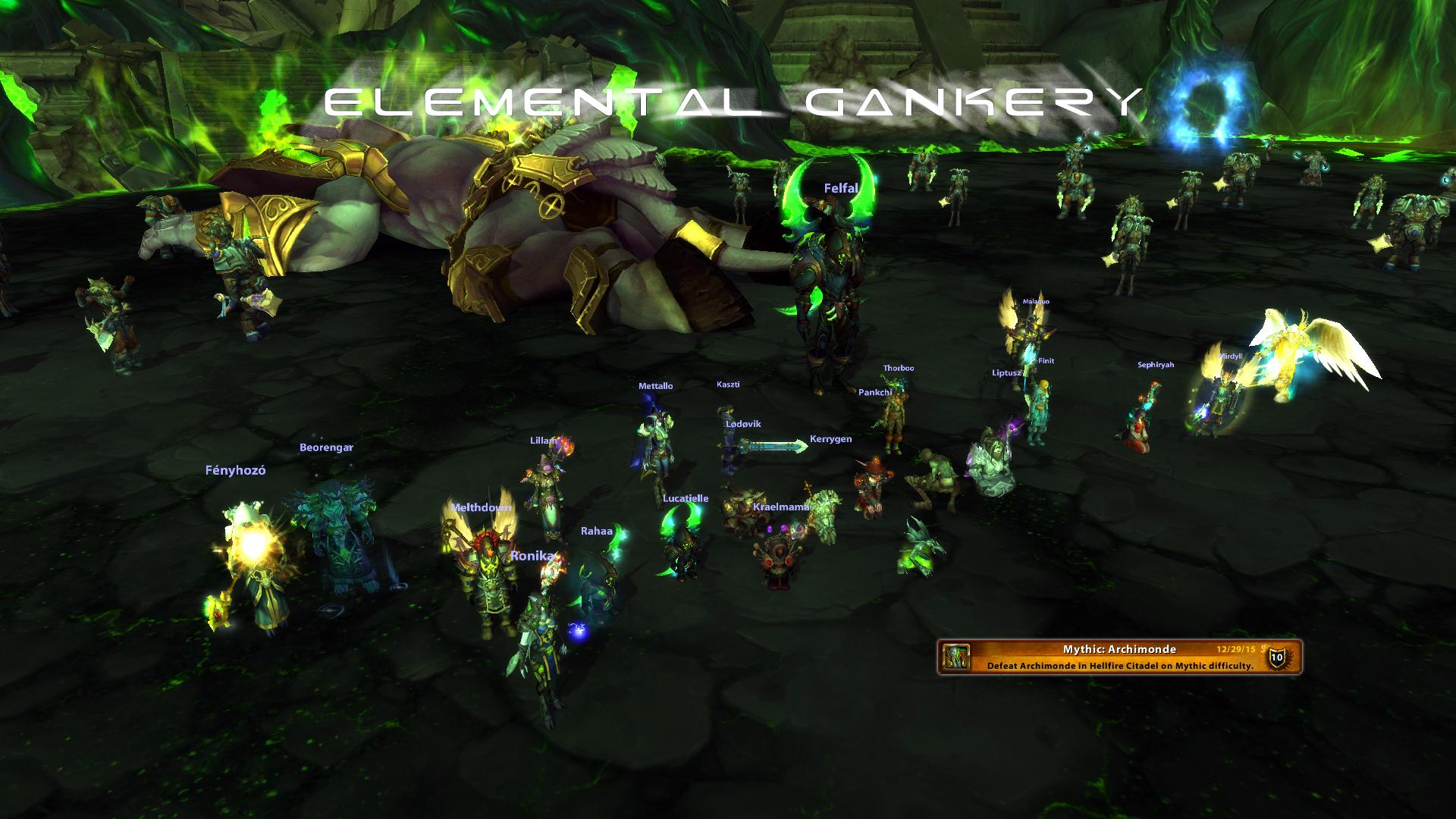 HFC Mythic 13/13 - Game, set, match. Legionben találkozunk